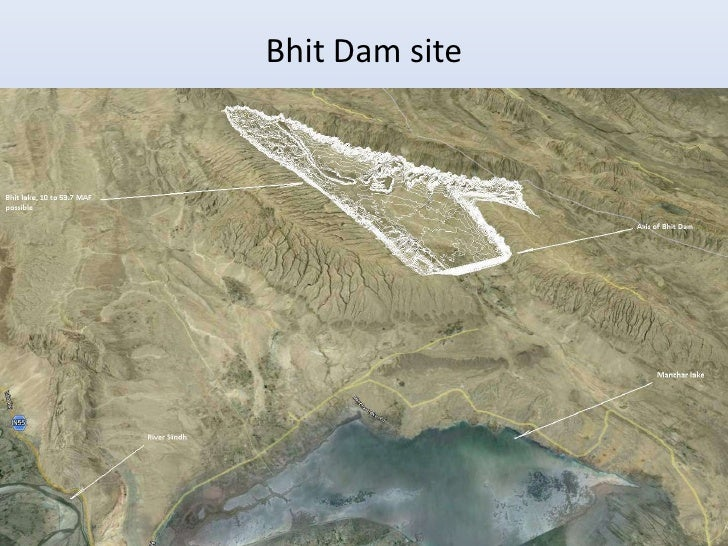 Bhit Dam site