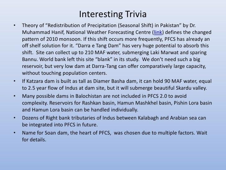 "Interesting Trivia•   Theory of ""Redistribution of Precipitation (Seasonal Shift) in Pakistan"" by Dr.    Muhammad Hanif, N..."