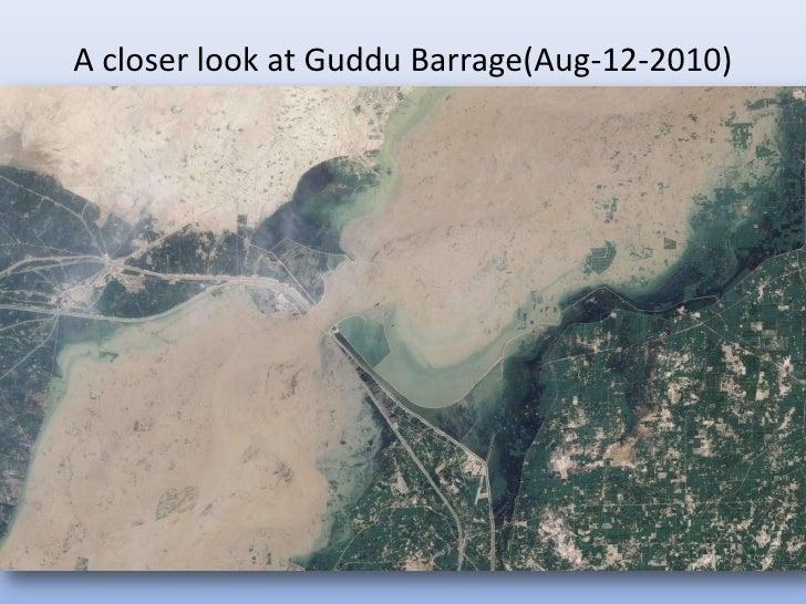 A closer look at Guddu Barrage(Aug-12-2010)