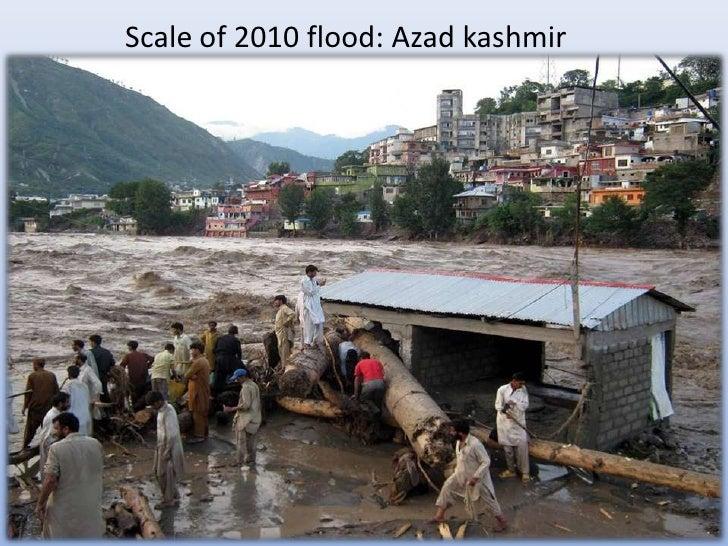 Scale of 2010 flood: Azad kashmir