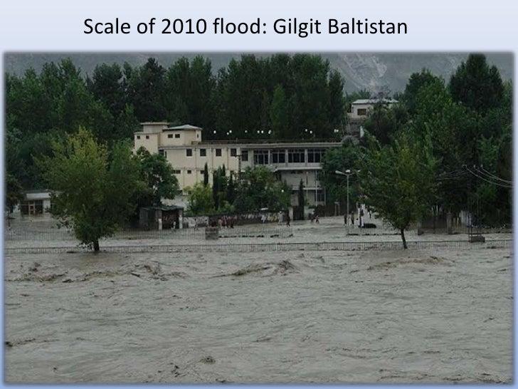 Scale of 2010 flood: Gilgit Baltistan