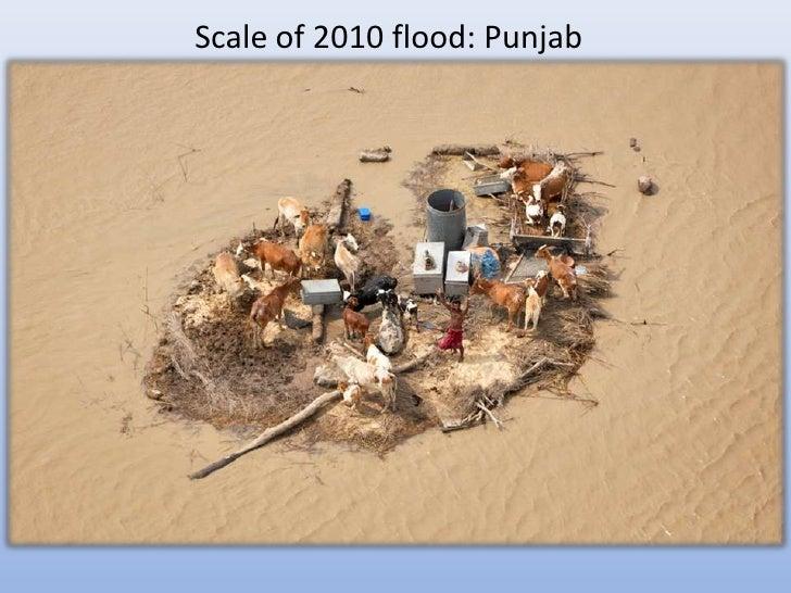 Scale of 2010 flood: Punjab
