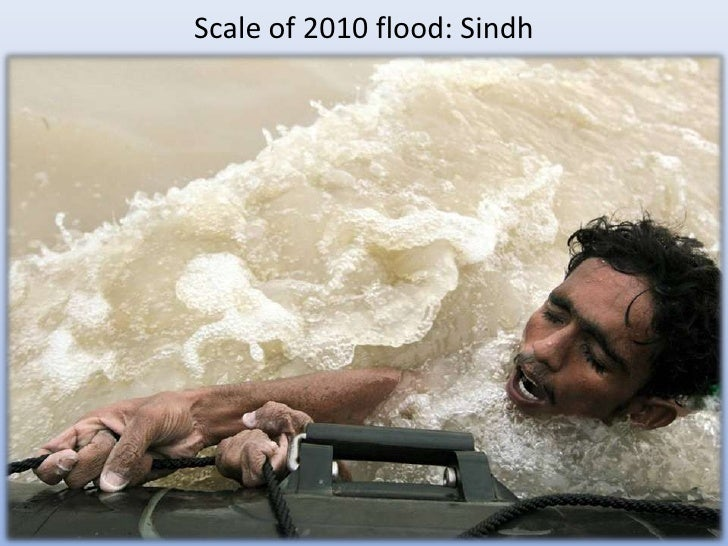 Scale of 2010 flood: Sindh