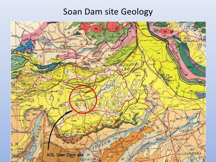 Soan Dam site Geology
