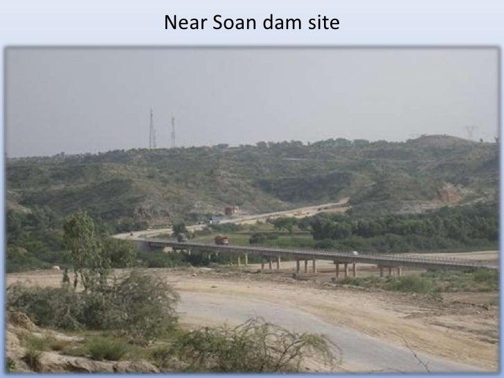Near Soan dam site