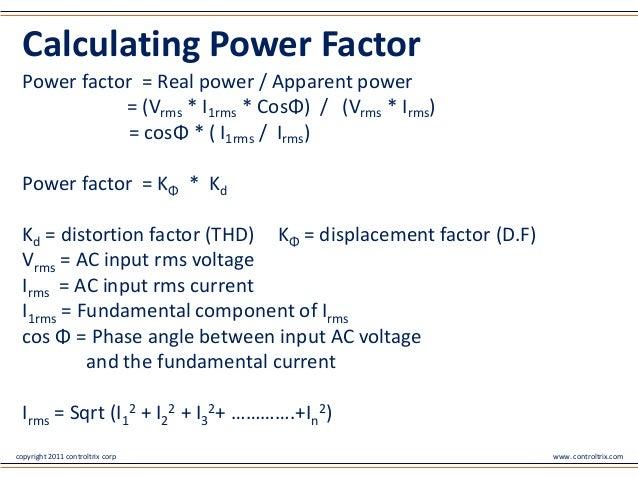Understanding The Power Factor