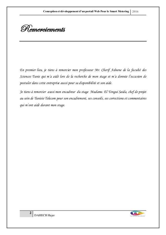 Rapport Pfe Conception Et Développement D Un Portail Web