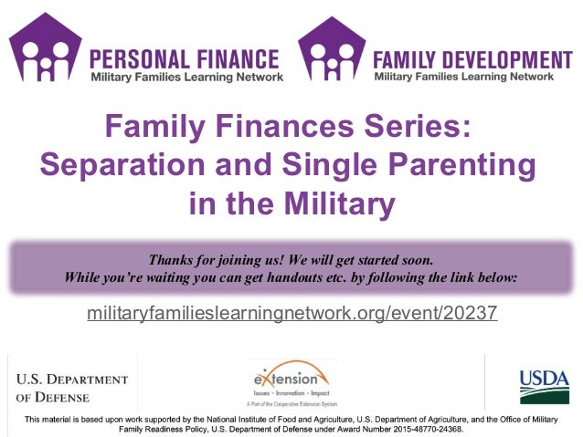 PF SMS icons PF SMS icons militaryfamilieslearningnetwork.org/event/20237 Family Finances Series: Separation and Single Pa...