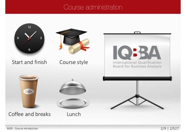 IQBBA® - Foundation Level Business Analyst Slide 2