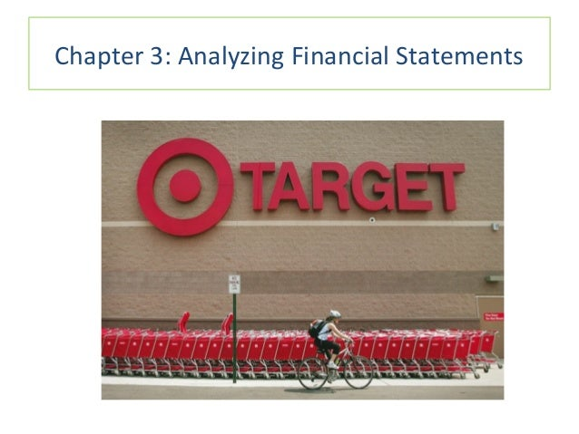 Chapter 3: Analyzing Financial Statements