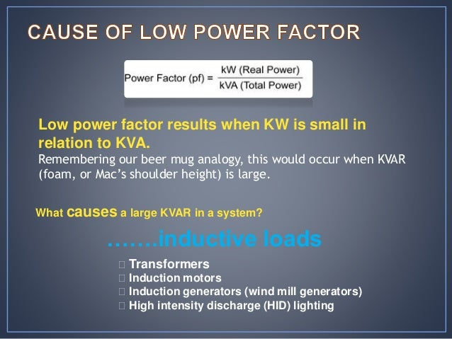 Power Factor Improvement