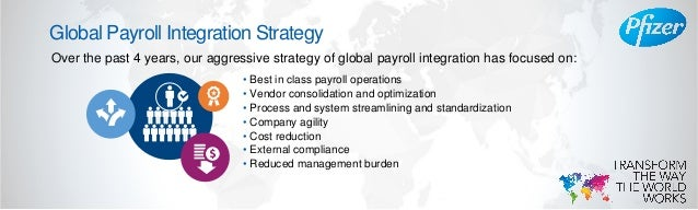 Pfizer: Global Payroll at the Center of an HR Evolution  Slide 3