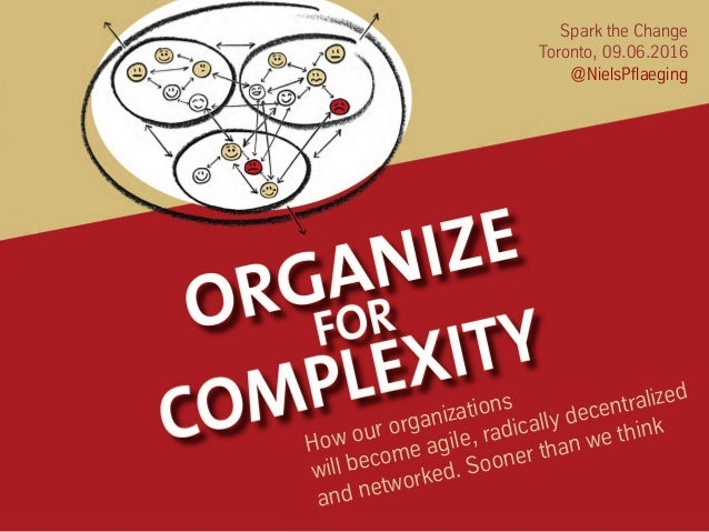 Spark the Change Toronto, 09.06.2016 @NielsPflaeging How our organizations will become agile, radically decentralized and ...