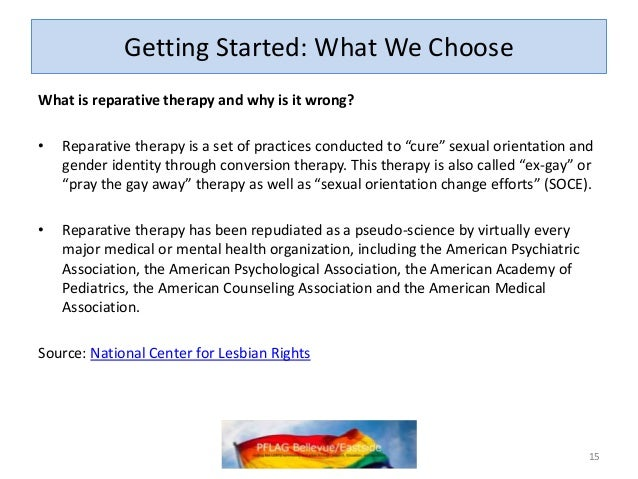 Ama sexual orientation change therapy