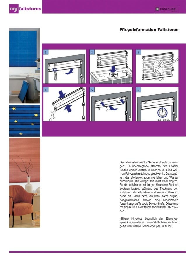 plissee so pflegen sie plissees richtig. Black Bedroom Furniture Sets. Home Design Ideas