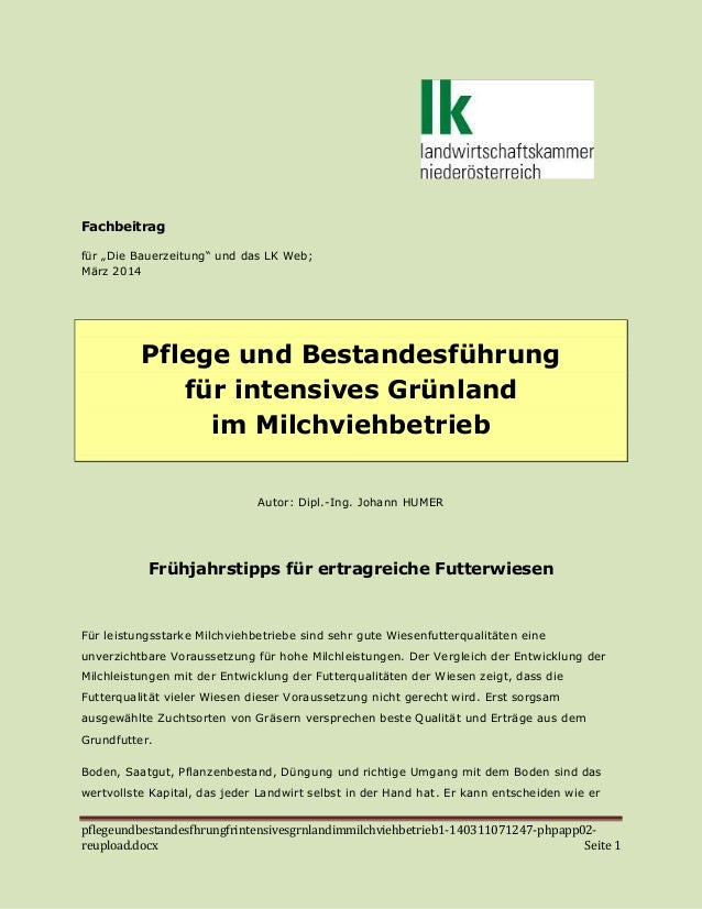 pflegeundbestandesfhrungfrintensivesgrnlandimmilchviehbetrieb1-140311071247-phpapp02- reupload.docx Seite 1 Fachbeitrag fü...