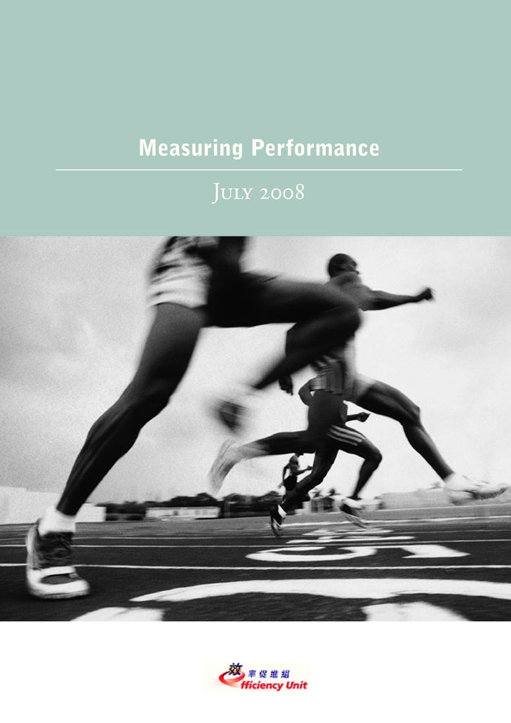 Measuring Performance       July 2008