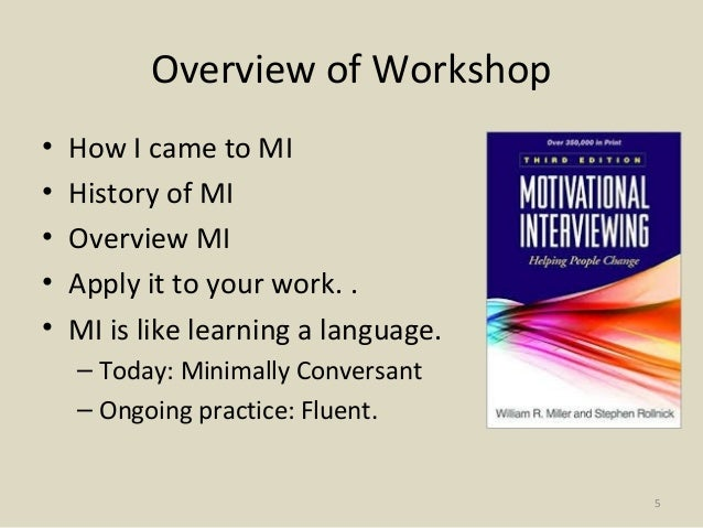 literature review of motivational interviewing Citing literature joão apóstolo, the use of motivational interviews by nurses to a systematic review of motivational interviewing in.