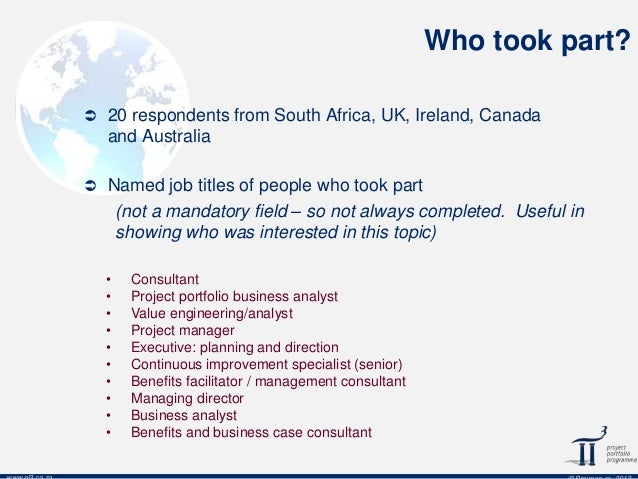 What Does A Portfolio Business Analyst Look Like