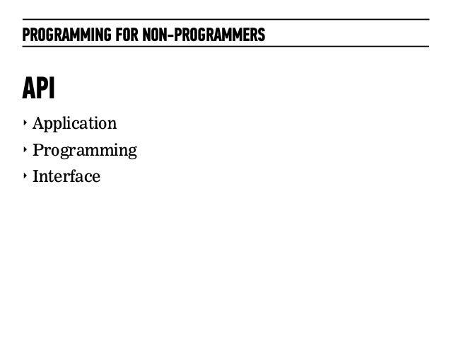 APIs Slide 2
