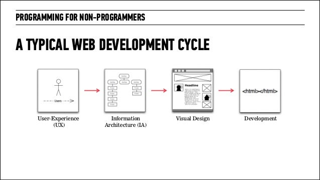 Programming For Non Programmers Information Architecture