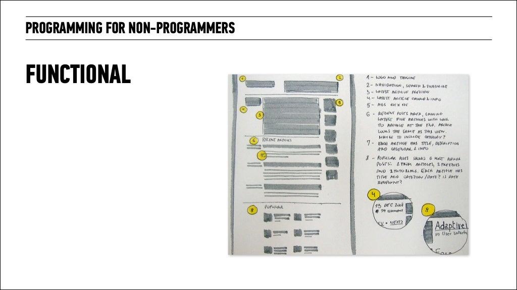 Programming For Non