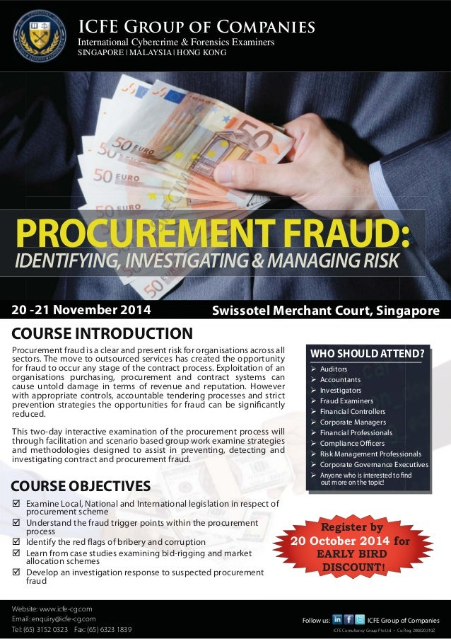 ICFE Group of Companies  International Cybercrime & Forensics Examiners  SINGAPORE | MALAYSIA | HONG KONG  PROCUREMENT FRA...