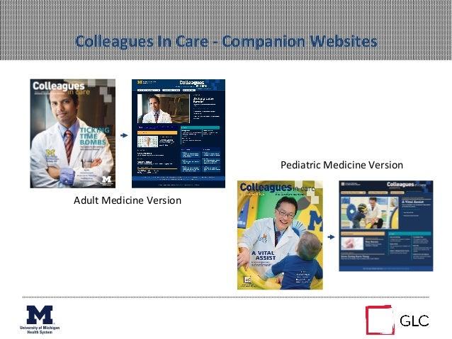 Colleagues In Care -‐ Companion Websites Adult Medicine Version Pediatric Medicine Version