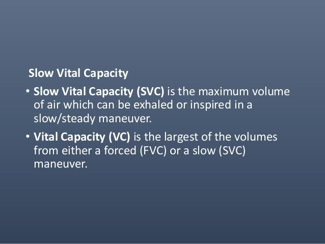 • Expiratory Reserve Volume (ERV) is the maximum volume of additional air that can be expired from the end of a normal exp...