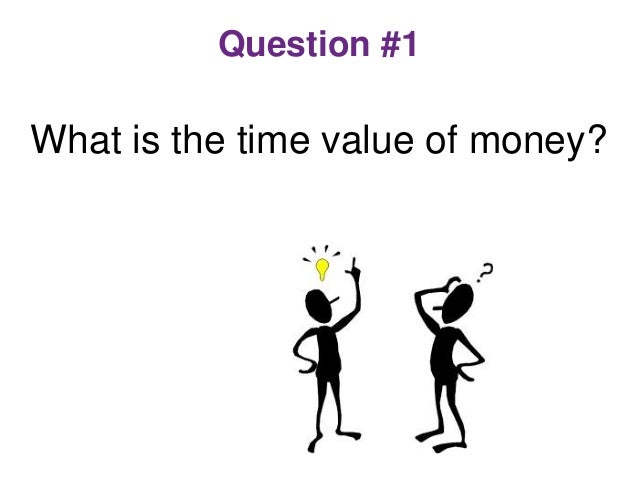 time value of money and correct