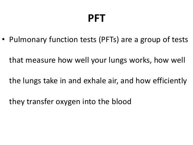 Pulmonary Function Test Slide 2