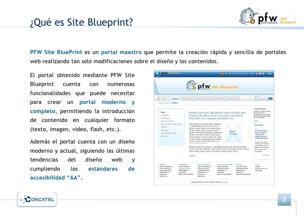 Pfw site blueprint blueprint presentacin de producto 2 qu es malvernweather Image collections