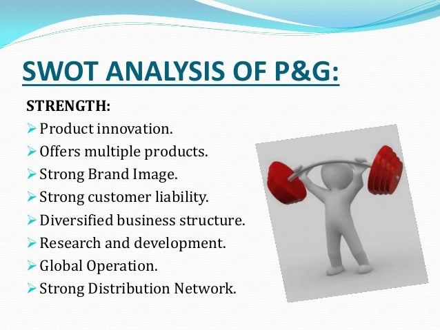 p g strategic analysis Swot analysis of procter gamble swot analysis is a strategic planning method used to evaluate thestrengths procter & gamble co or p&g.