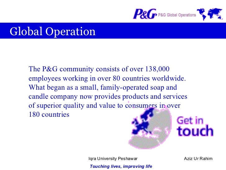 Procter and gamble international operations gambling.florida