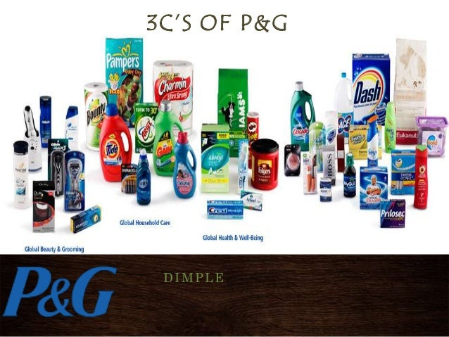 3C'S OF P&G DIMPLE