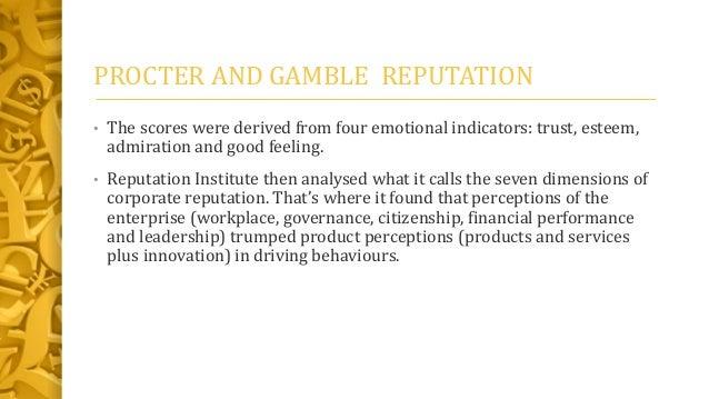 Organizational change of procter and gamble marketing essay