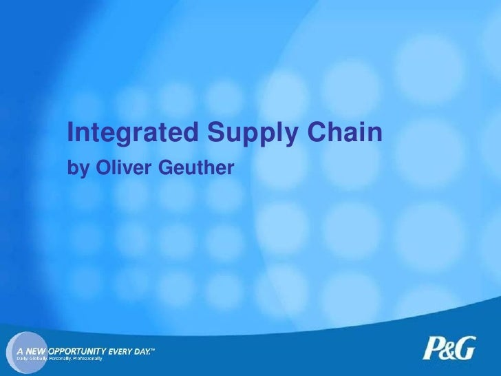 Integrated Supply Chain by Oliver Geuther