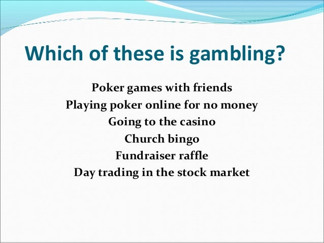Gambling addiction and stock market slot analysis presentation