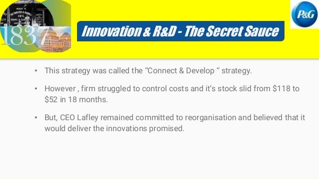 a g lafley innovating p g's innovations Innosight president scott d anthony interviewed procter & gamble chairman and ceo ag lafley as part of a keynote session at the may 2008 pdma and iir front end of innovation conference in boston.