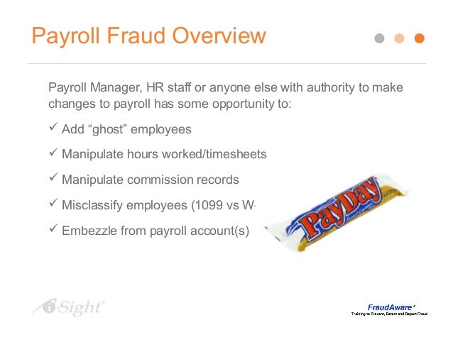 detecting and preventing payroll fraud