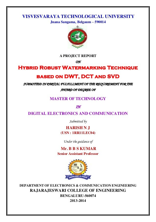 vtu mtech thesis submission 2017