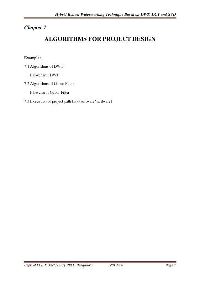 Vtu pg program mtech project report format project 21 yadclub Gallery