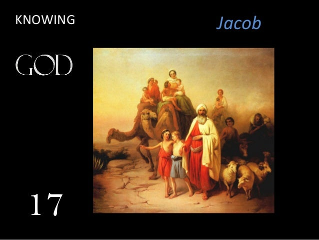 Jacob 17 KNOWING