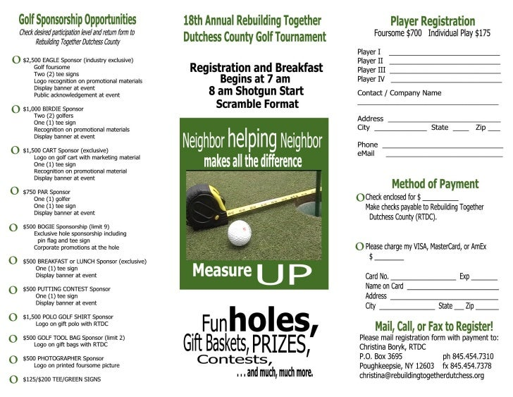 Pg1 Rebuilding Together Golf Brochure