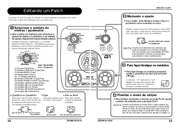 ZOOM G1 PATCHES EPUB DOWNLOAD
