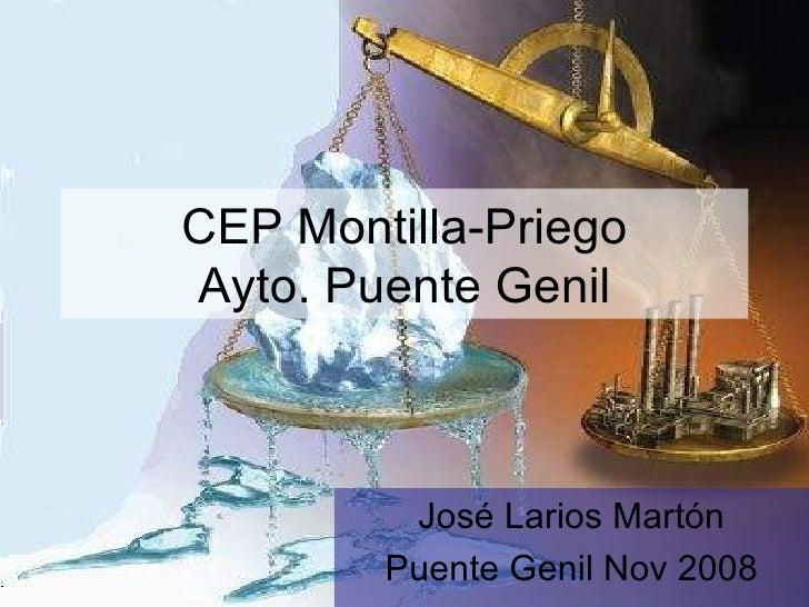 CEP Montilla-Priego Ayto. Puente Genil José Larios Martón Puente Genil Nov 2008