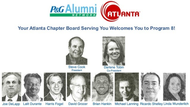 Your Atlanta Chapter Board Serving You Welcomes You to Program 8!