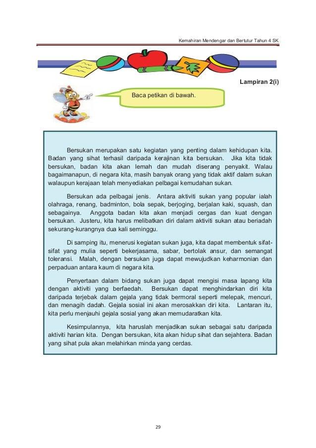 Bahasa Melayu Tahun 4 Surat Tidak Rasmi Surat Rasmi P