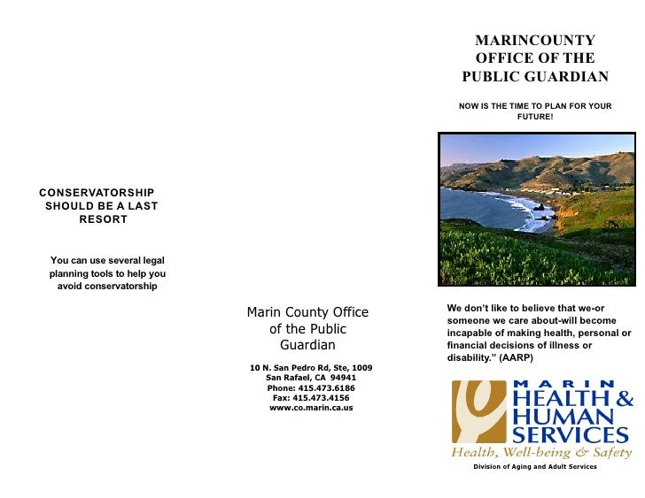 MARINCOUNTY                                                                  OFFICE OF THE                                ...