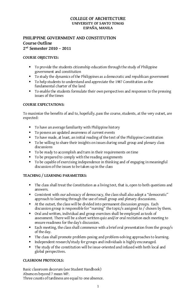 1987 Constitution Pdf